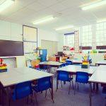 Empty Classroom - Passing NQT Year during Coronavirus Pandemic