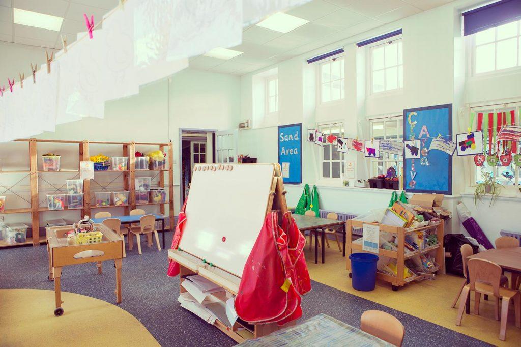 Empty Classroom - Recruitment and Retention of Teachers
